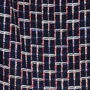 LOFT Skirts - loft | blue print boucle button mini skirt sz 12